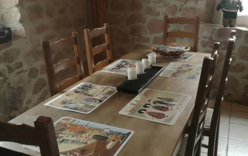 Location de vacances - Gîte à Labaroche - cuisine