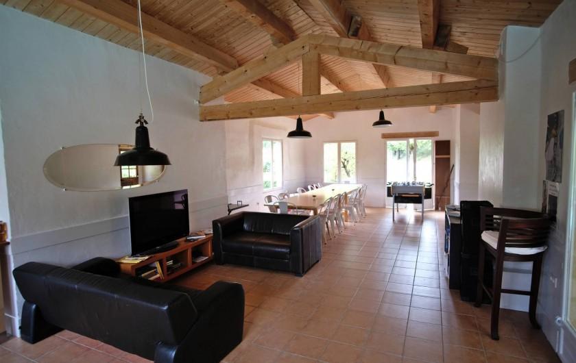Location de vacances - Gîte à Grane - L'ALVARIUM : Espace d'hôtes à partager