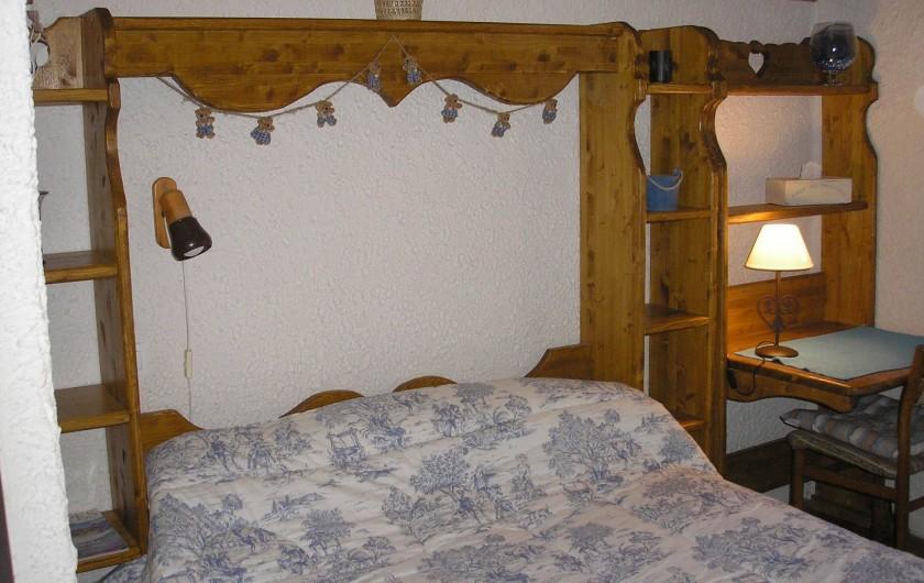 Location de vacances - Gîte à Habère-Poche - Une chambre pour deux personnes