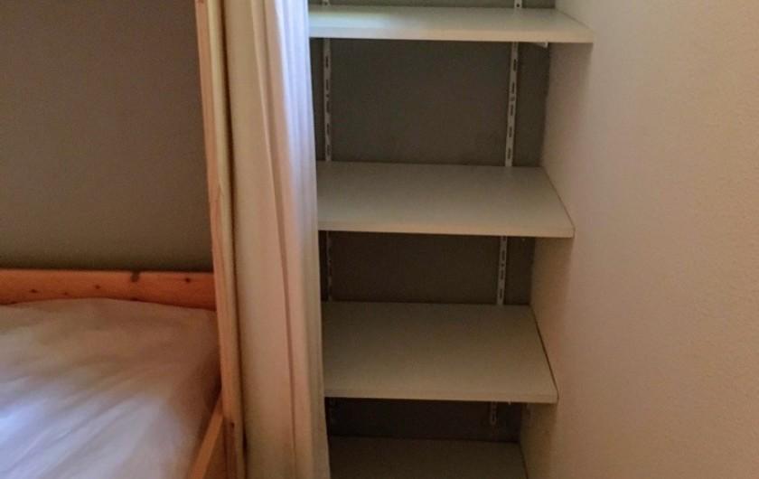 Location de vacances - Appartement à Cauterets - Rangement chambre 2