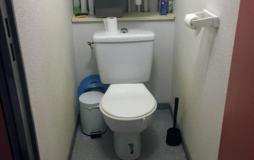 Location de vacances - Appartement à Cauterets - Toilettes séparées