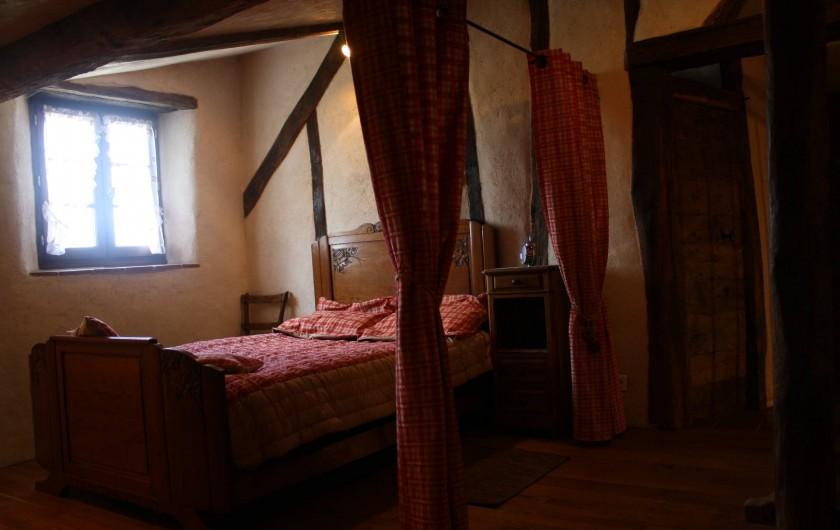 Location de vacances - Gîte à Chirassimont - Chambre dans la mezzanine