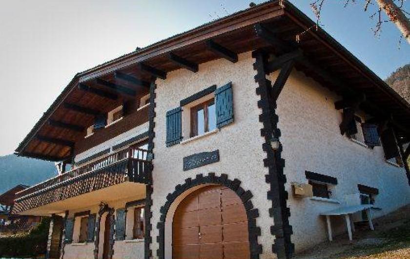 Location de vacances - Chalet à Le Grand-Bornand - Rénovation totale pour Noël 2016 ! Nouvelles photos bientôt.