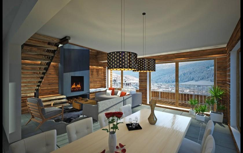 location appartement ski noel 2016