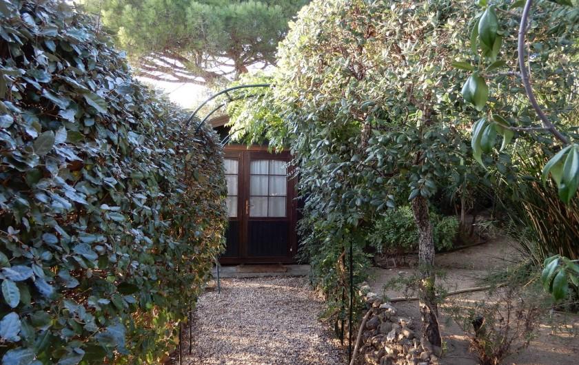 Location de vacances - Chambre d'hôtes à Ramatuelle - Salle de Méditation