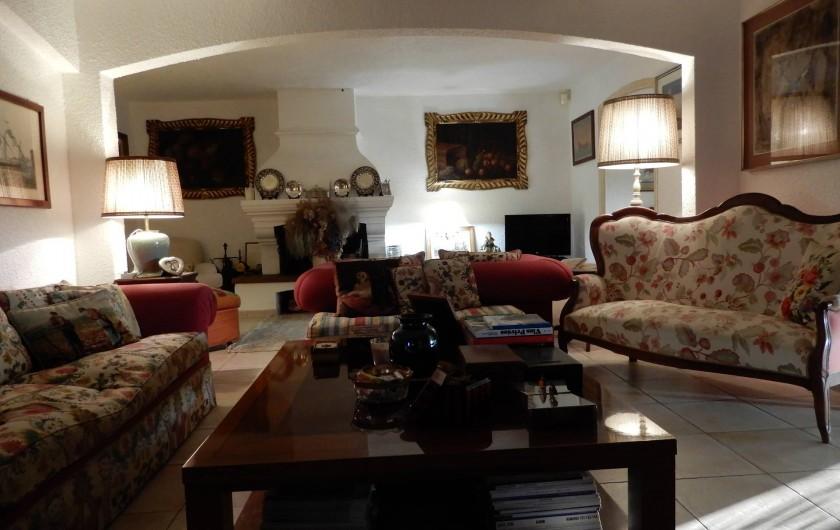Location de vacances - Chambre d'hôtes à Ramatuelle - Salon
