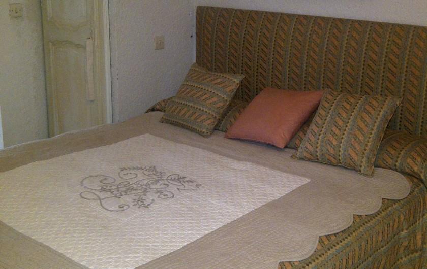 Location de vacances - Chambre d'hôtes à Ramatuelle - Chambre double sur la terrasse