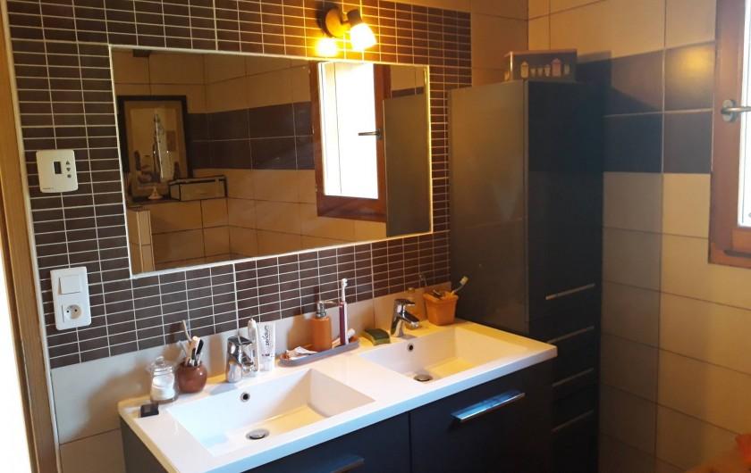Location de vacances - Chalet à Bourg-Saint-Maurice - Salle de bain