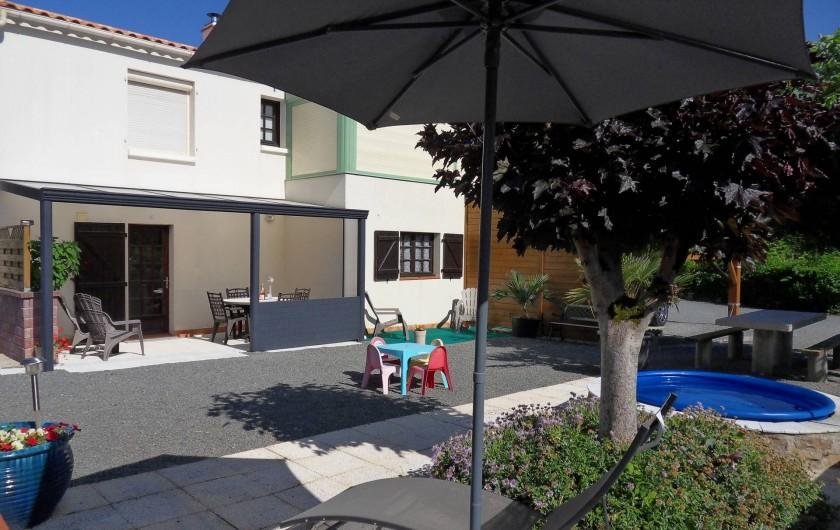 Location de vacances - Appartement à Apremont - Location Terrasses et Façade
