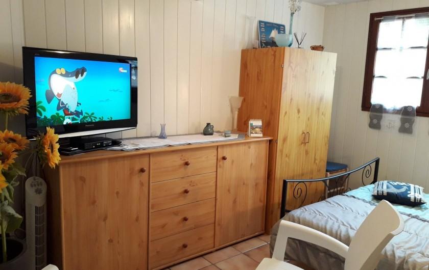 Location de vacances - Appartement à Apremont - Chambre location