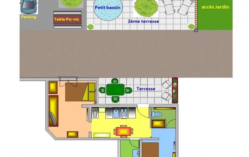 Location de vacances - Appartement à Apremont - Plan Location