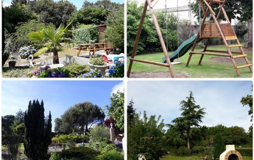 Location de vacances - Appartement à Apremont - Jardin, Jeux pour enfants