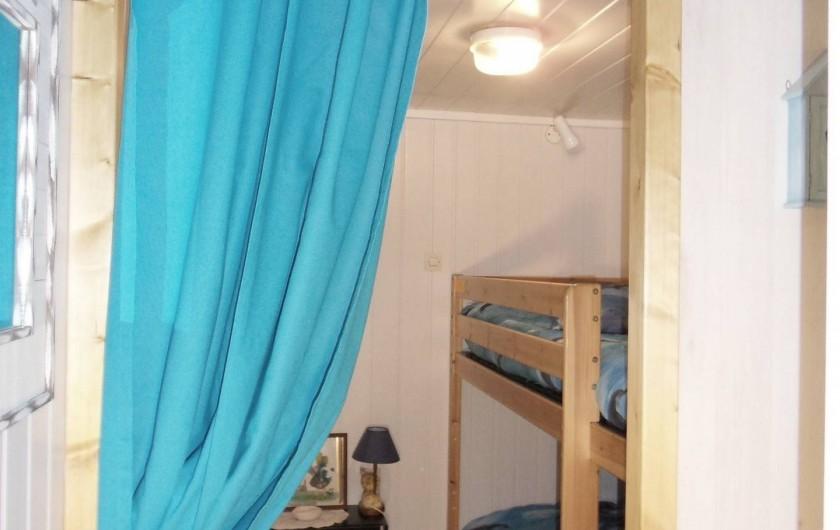Location de vacances - Appartement à Apremont - Coin nuit Location