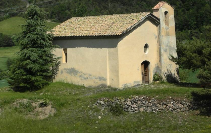 Location de vacances - Appartement à Avançon - chapelle