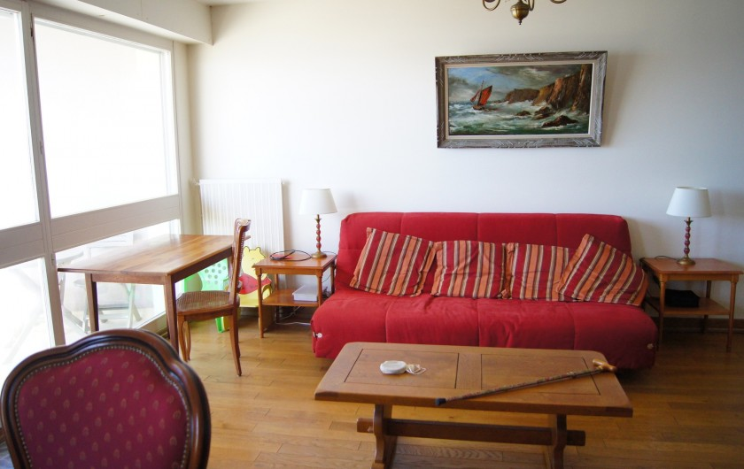 Location de vacances - Appartement à Saint-Malo - Salon, côté mer