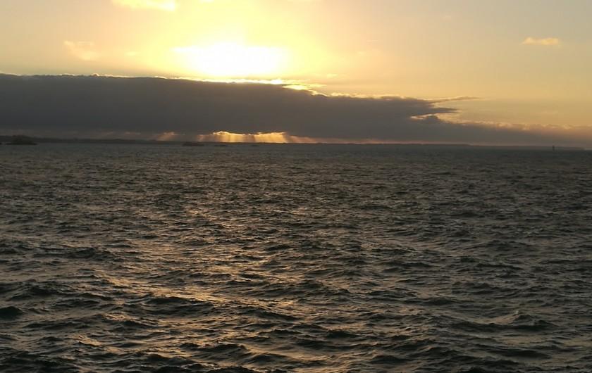 Location de vacances - Appartement à Saint-Malo - Grande marée - Pleine mer