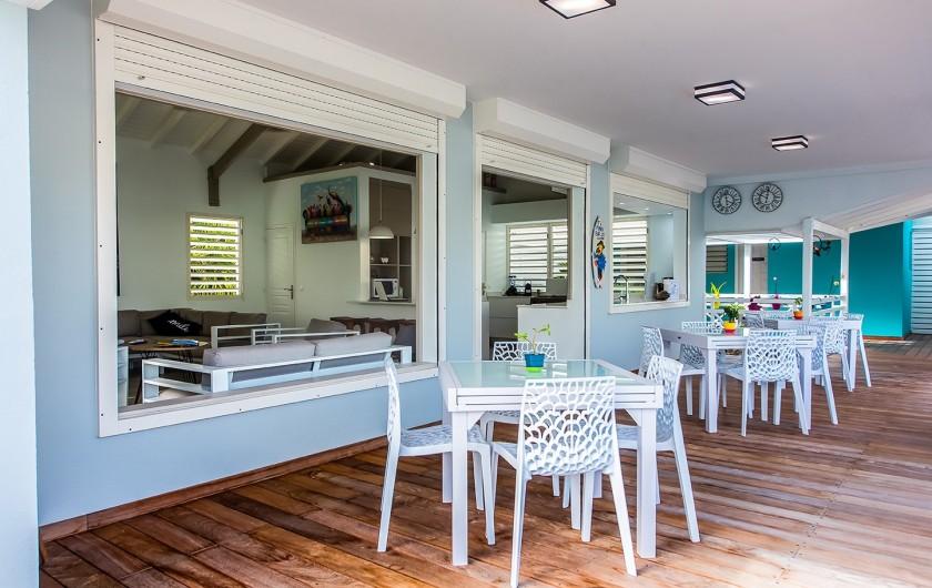 Location de vacances - Hôtel - Auberge à Saint-François - petits déjeuners