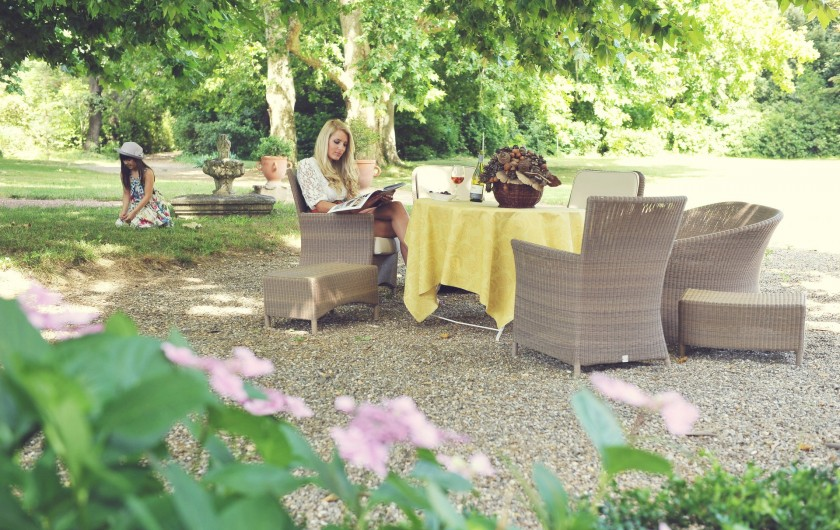 Location de vacances - Chambre d'hôtes à Béziers - Salon d'été