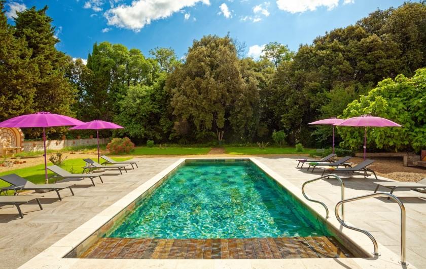 Location de vacances - Chambre d'hôtes à Béziers - Piscine