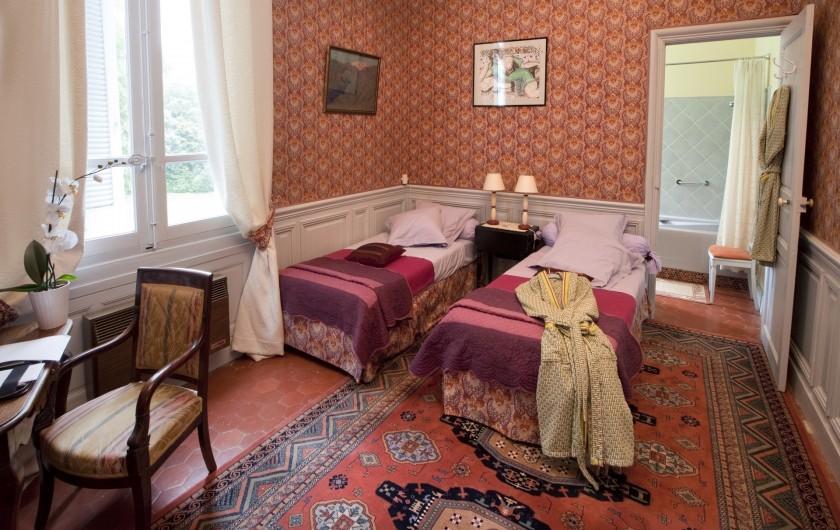 Location de vacances - Chambre d'hôtes à Béziers - Chambre Mauve