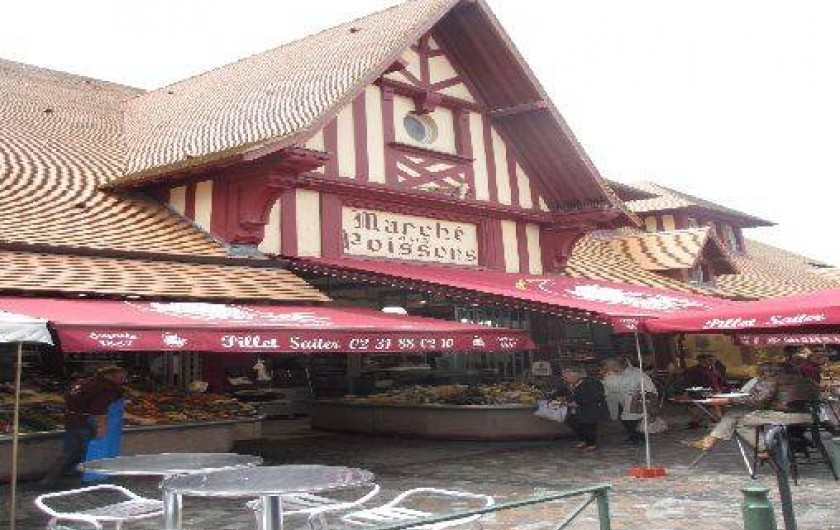 Location de vacances - Villa à Trouville-sur-Mer