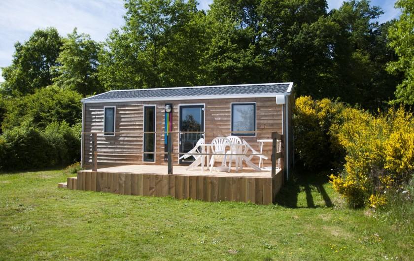 Location de vacances - Camping à Pressignac - Mobil-home 2 chambres