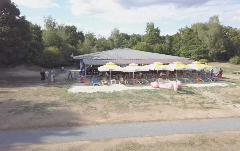 Location de vacances - Camping à Pressignac - 16 Beach
