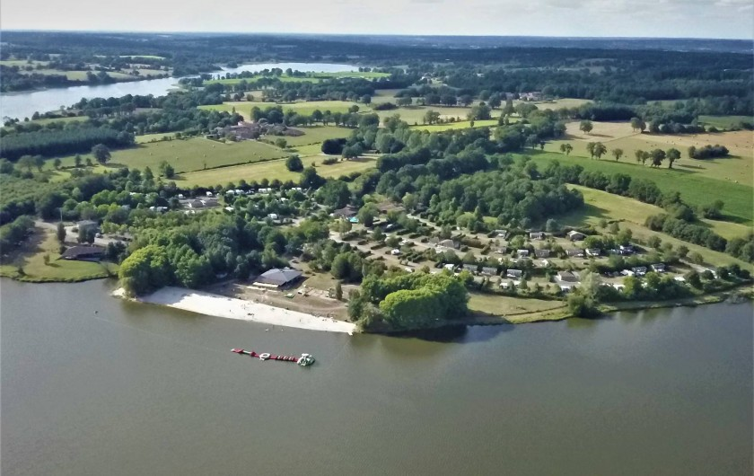 Location de vacances - Camping à Pressignac - Camping des Lacs
