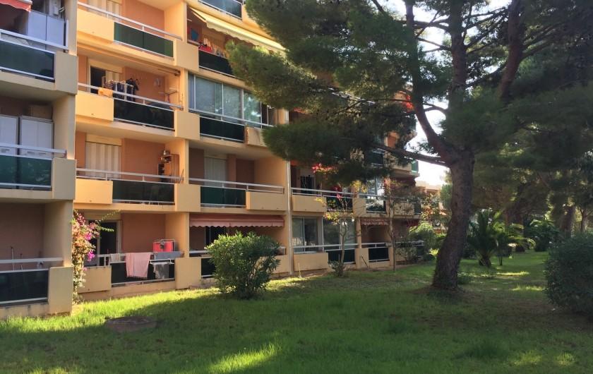 Location de vacances - Studio à Bormes-les-Mimosas - la résidence