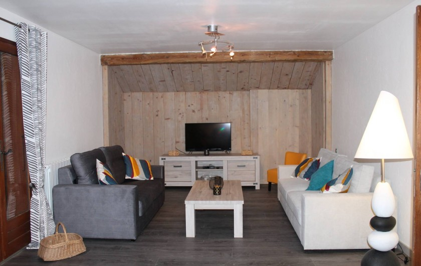 Location de vacances - Appartement à Valloire - Salon