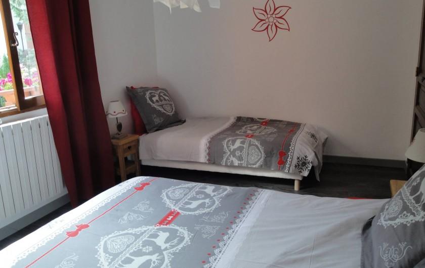 Location de vacances - Appartement à Valloire - CHAMBRE 1- lit de 90