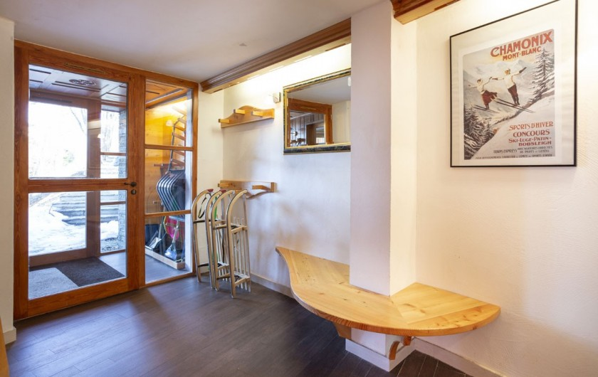 Location de vacances - Chalet à Bourg-Saint-Maurice - Hall