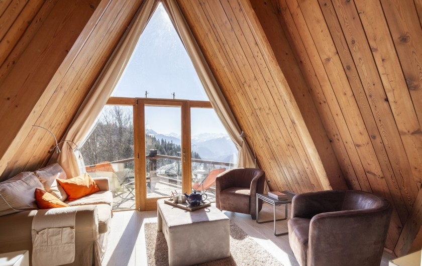 Location de vacances - Chalet à Bourg-Saint-Maurice - Coin salon