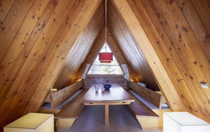 Location de vacances - Chalet à Bourg-Saint-Maurice - Coin salle à manger