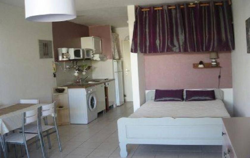 Location de vacances - Studio à Saint-Gilles les Bains