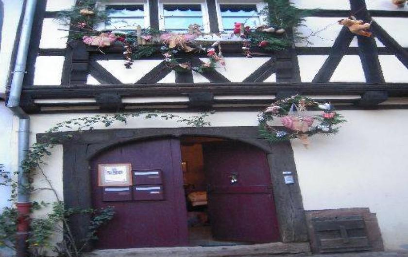 Location de vacances - Appartement à Riquewihr