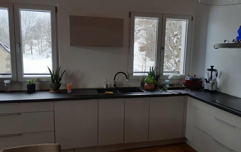 Location de vacances - Appartement à Chastreix - CUISINE