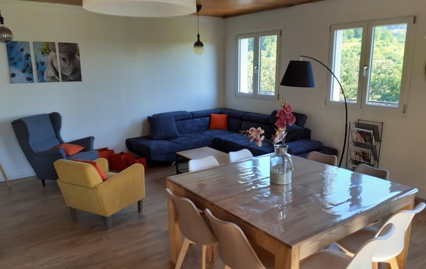 Location de vacances - Appartement à Chastreix - COULOIR ET BIBLIOTHEQUE