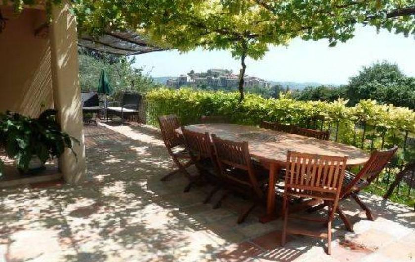 Location de vacances - Villa à Gattières