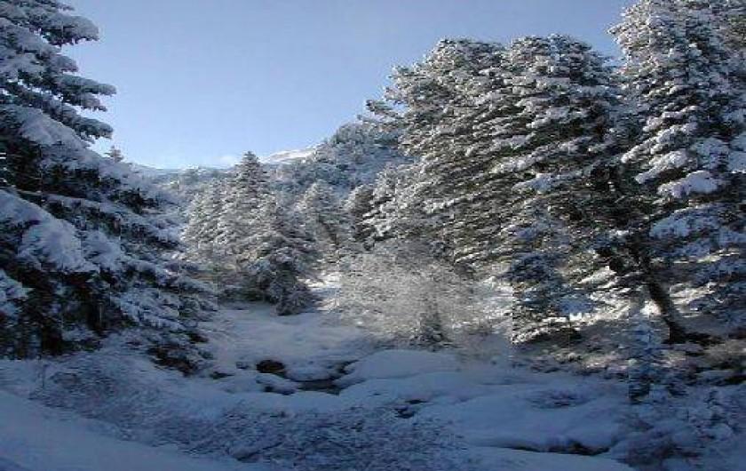 Location de vacances - Appartement à Méribel - A 100 m du CHALET vers le lac de TUEDA à 300 M