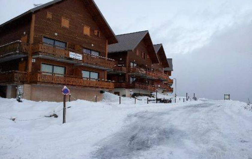 location appartement ski reallon