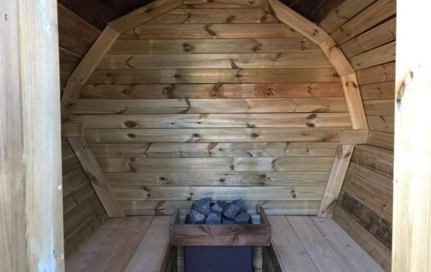 Location de vacances - Villa à Camélas - sauna 4/6 personnes