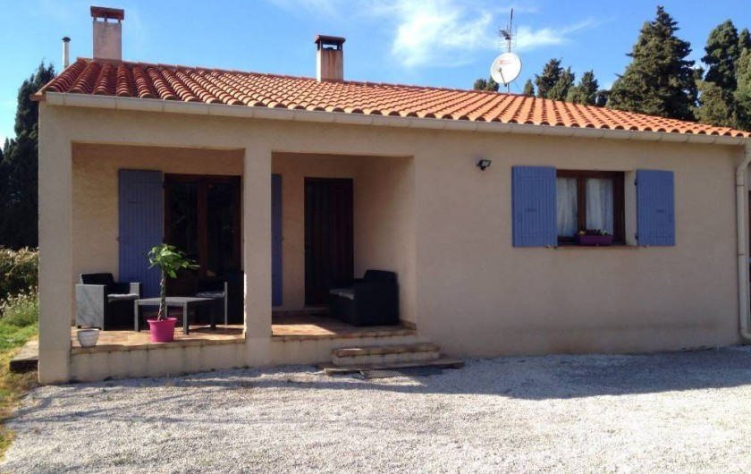 Location de vacances - Villa à Camélas - face avant
