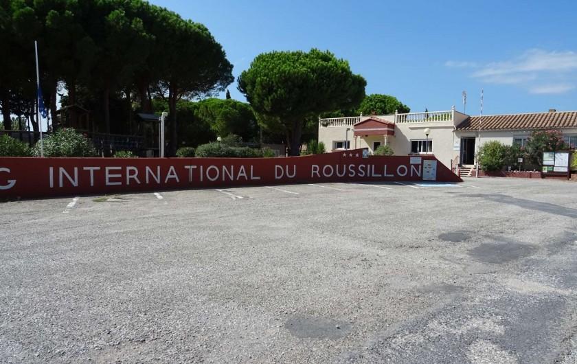 Location de vacances - Bungalow - Mobilhome à Salses-le-Château - Entrée Camping International du Roussillon