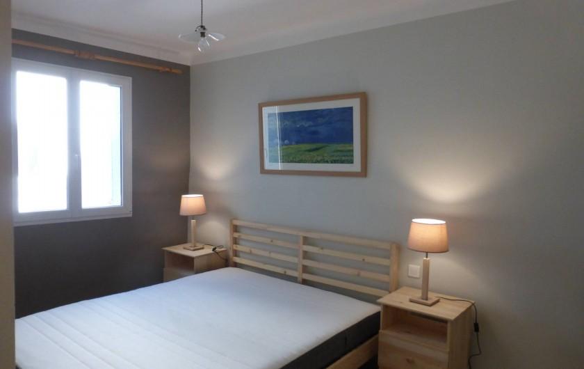 Location de vacances - Mas à Saint-Maurice-de-Cazevieille - Chambre 5 / Lit 160x200