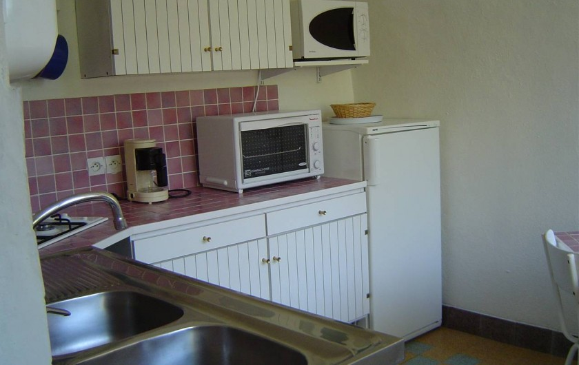 Location de vacances - Chambre d'hôtes à Chassagnes - Gîte : cuisine