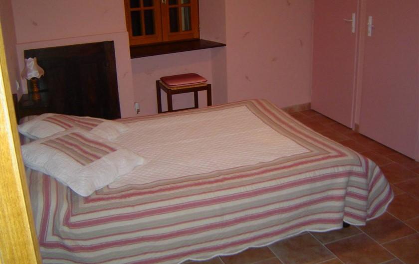 Location de vacances - Chambre d'hôtes à Chassagnes - Chambre Tamaris
