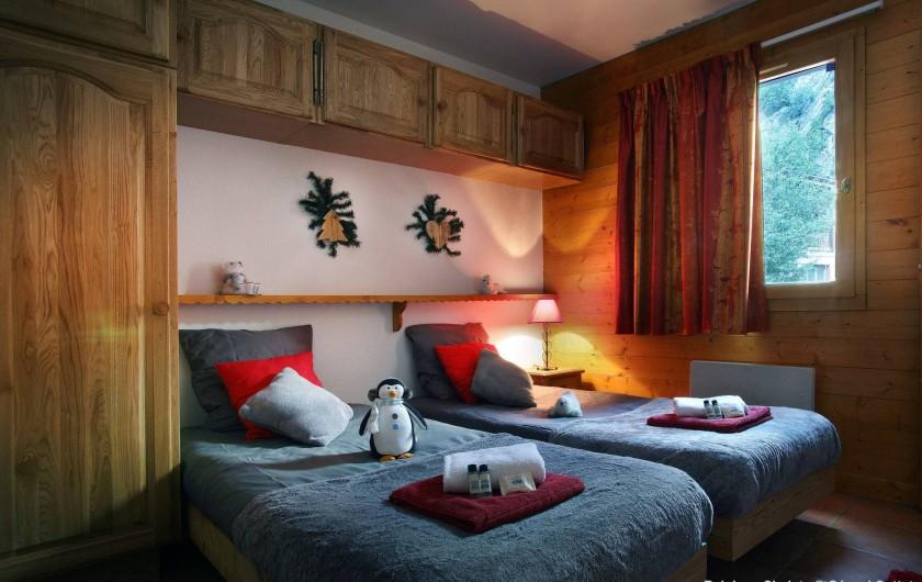 Location de vacances - Chalet à Les Menuires - Chambre lit simple