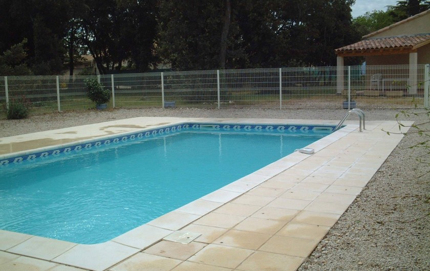 Location de vacances - Villa à Bédoin