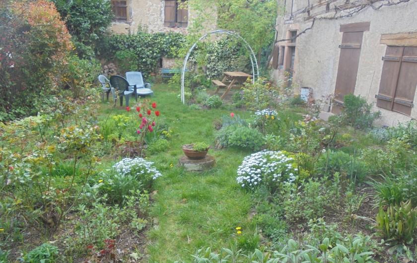 Location de vacances - Maison - Villa à Saint-Hippolyte - jardin d'agrément